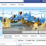 No Facebook, pode me procurar a minha página GUIA NA TURQUIA