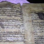 Torah escrito em pele de Baleia